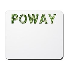 Poway, Vintage Camo, Mousepad