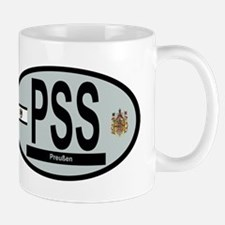Car code - Prussia - Grey Mug