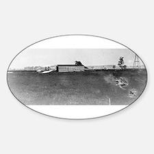 1904 Huffman Prairie Shop Oval Decal