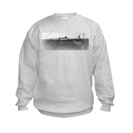 1904 Huffman Prairie Shop Kids Sweatshirt