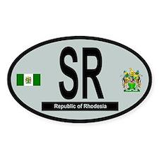 Car code - Rhodesia Decal