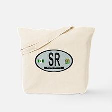 Car code - Rhodesia Tote Bag