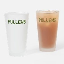 Pullens, Vintage Camo, Drinking Glass