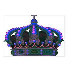 Royal Crown 8 Postcards (Package of 8)
