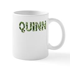 Quinn, Vintage Camo, Small Mug