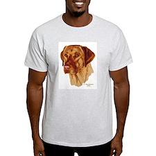 Fox Red Labrador Ash Grey T-Shirt