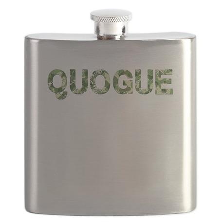 Quogue, Vintage Camo, Flask