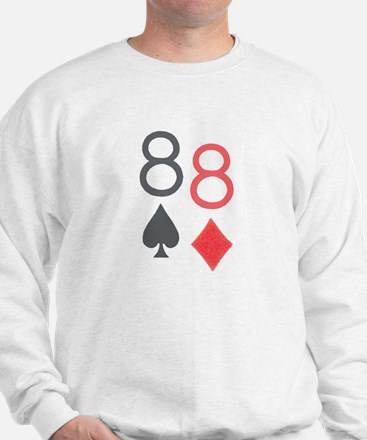 Pocket Eights Poker Sweatshirt