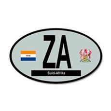 Car Code South Africa 1928-1994 Wall Decal