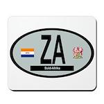 Car Code South Africa 1928-1994 Mousepad