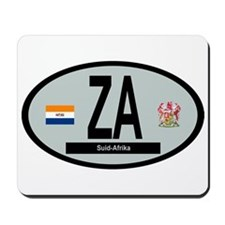 Car Code South Africa 1928-1994 Mousepad