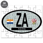 Car Code South Africa 1928-1994 Puzzle