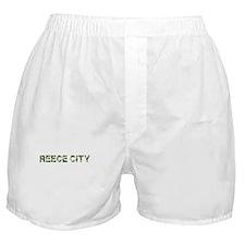 Reece City, Vintage Camo, Boxer Shorts