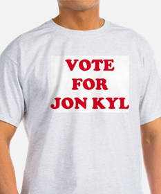 VOTE FOR JON KYL  Ash Grey T-Shirt