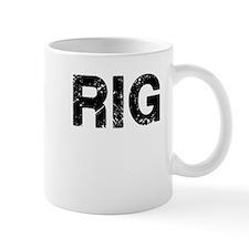 Rig, Vintage Camo, Small Mug