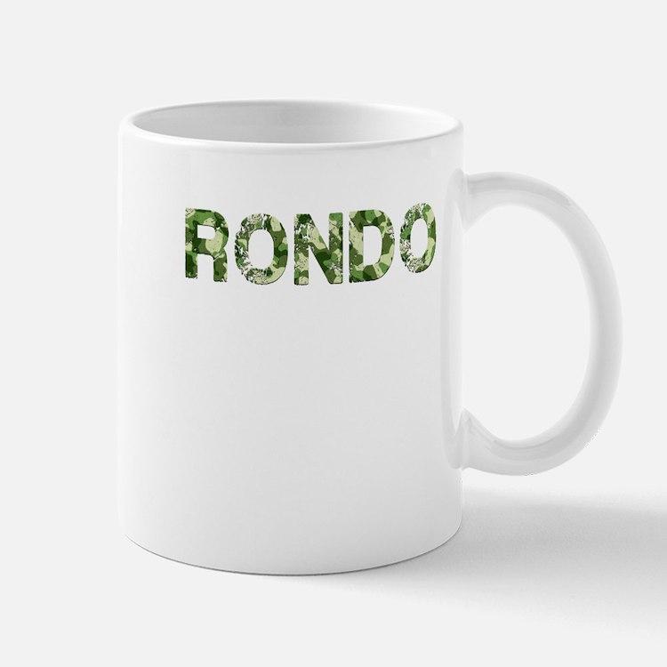 Rondo, Vintage Camo, Mug