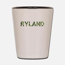 Ryland, Vintage Camo, Shot Glass