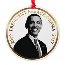 Obama Inaugeration Christmas Ornament