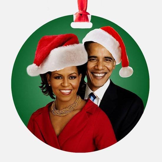 Obama Christmas Ornament