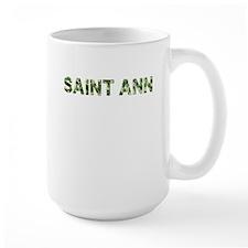 Saint Ann, Vintage Camo, Mug