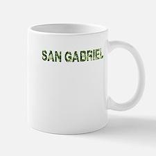 San Gabriel, Vintage Camo, Small Small Mug