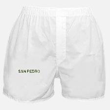 San Pedro, Vintage Camo, Boxer Shorts