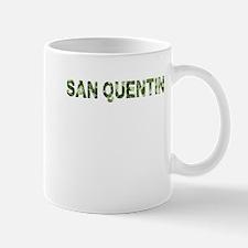 San Quentin, Vintage Camo, Small Small Mug
