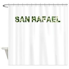San Rafael, Vintage Camo, Shower Curtain