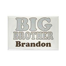 Custom name Big Brother Rectangle Magnet
