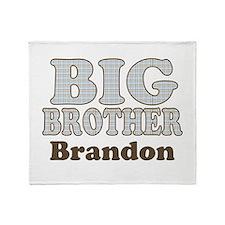 Custom name Big Brother Throw Blanket