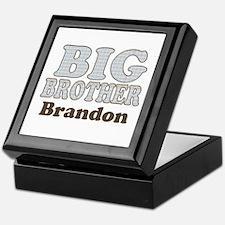 Custom name Big Brother Keepsake Box