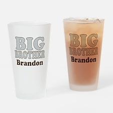 Custom name Big Brother Drinking Glass