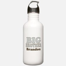 Custom name Big Brother Water Bottle