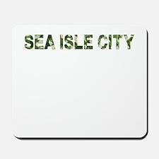 Sea Isle City, Vintage Camo, Mousepad