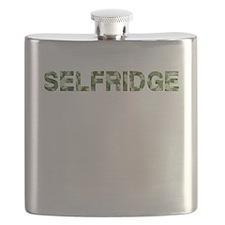 Selfridge, Vintage Camo, Flask