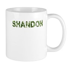 Shandon, Vintage Camo, Mug