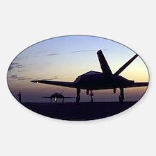 F-117 Nighthawk Oval Decal