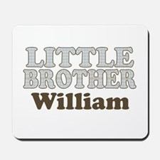Custom name little brother Mousepad