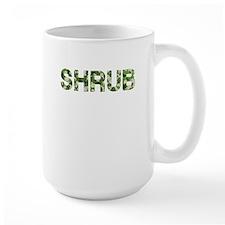Shrub, Vintage Camo, Mug