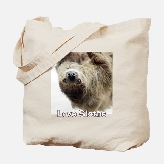 Love Sloths Tote Bag