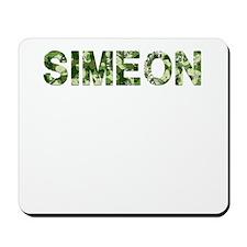 Simeon, Vintage Camo, Mousepad