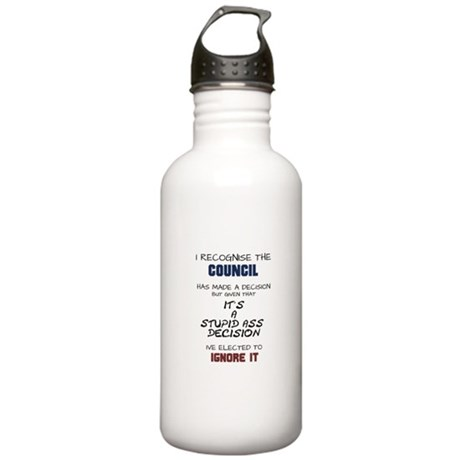 Stupid decision Stainless Water Bottle 1.0L
