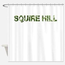 Squire Hill, Vintage Camo, Shower Curtain