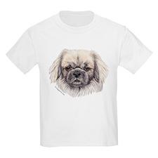 Tibetan Spaniel Kids T-Shirt