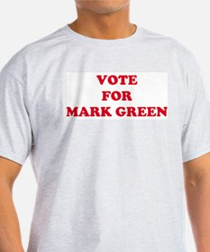 VOTE FOR MARK GREEN Ash Grey T-Shirt