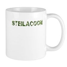 Steilacoom, Vintage Camo, Mug