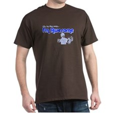 I'm Awesome T-Shirt (Dark Colors)