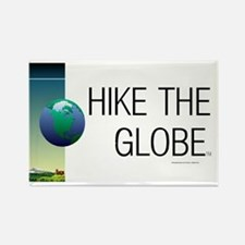 TOP Hiking Slogan Rectangle Magnet