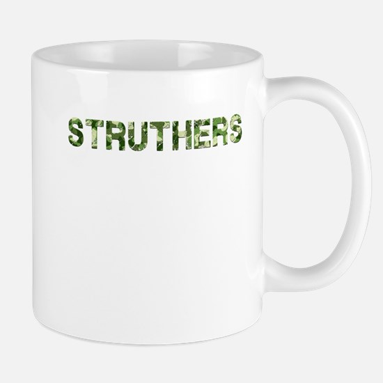 Struthers, Vintage Camo, Mug