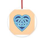 Adanvdo Heartknot Ornament (Round)